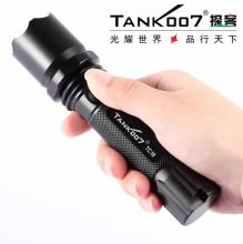 TANK007 TC19 Cree Q5 3-modes 500lumen LED Flashlight Rechargeable Torch 1*18650 Battery - Shenzhen Lights & Switch CO., Store store