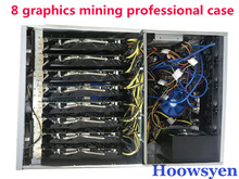 Buy Riser mining ETH/ETC/ZEC/XMR 4U mine mining machine chassis chassis 8 graphics server chassis for $76.66 in AliExpress store