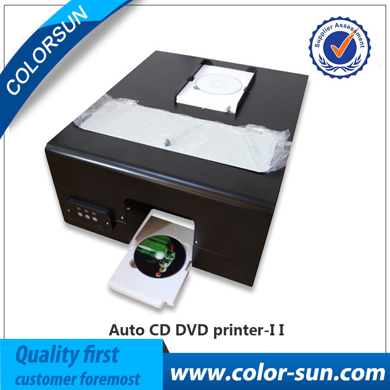 2017 newest CD printer for Epson 330 with 60pcs CD/PVC tray free to print cd dvd disc on hot sales!(China)