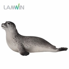 LANWIN Hot toys Sea Life Fur seal Oceanic dolphins Sawfish Simulation Animal Model Action & Toy Figures Marine Gift for Boys(China)