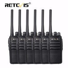 6pcs Professional Walkie Talkie Retevis RT21 2.5W 16CH UHF VOX Scrambler Portable Two Way Radio Station Walk Talk Hf transceiver