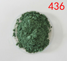 sell pearlescent pigment,color mica powder,pearl effect pigment,item:436,color:dark green,1lot=20gram, free shipping(China)
