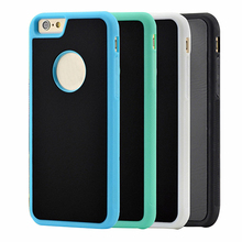 Anti Gravity Case Nano Sticky Phone Back Cover Adsorption Shell for Apple iPhone