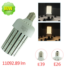 80W LED Corn Bulb 300-500V Retrofit 250 Watt HID Flood Fixture 480V E39 Floodlight Security Light