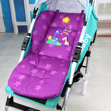 Cotton lengthened baby stroller cushion  Cartoon pad pram baby car seat cushion thick cotton mat 0-36 months High-end custom