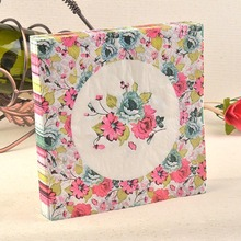 New table napkins paper tissue decoupage vintage printed flower wedding birthday party cocktail cafe hotel home decoration mats
