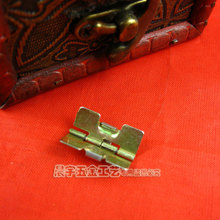Wholesale 22*13mm 100pcs/lot Luggage Hardware accessories Metal Springs small hinge Wooden box Jewelry box hinges Free shipping