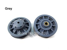 Henglong plastic idler wheels(grey) for 1:16 1/16 Henglong 3818-1 Germany Tiger 1 rc tank, henglong rc spare parts(China)