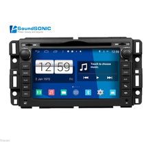 Android 4.4.4 For GMC Yukon XL Denali Acadia Sierra Outlook Vue Tahoe Car Radio Stereo DVD GPS Navigation Multimedia Headunit