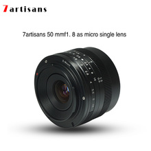 Buy 7artisans 50mmF1.8 Large Aperture Portrait Manual Focus Micro Camera Lens Fit Canon eos-m Mount E-Mount Fuji FX-Amount for $89.00 in AliExpress store