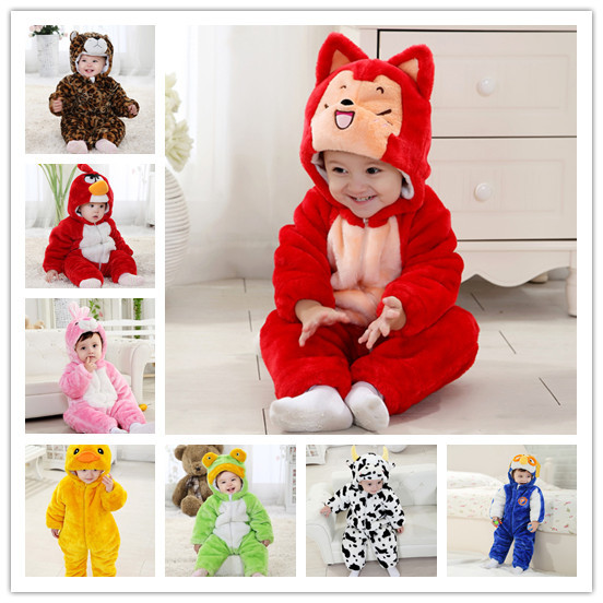 XJ-4, baby jumpsuits, winter long sleeve thick animal jumpsuits, romper.<br><br>Aliexpress