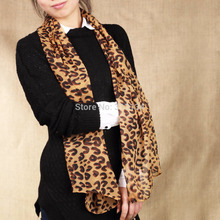 1pc High Quality New Style scarves Fashion Design Hot Long Sexy Leopard Scarf Women Warm animal print Leopard shawl Hot