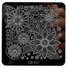 Buy ISHOWTIENDA christmas nail stamping Pattern DIY Nail Art stamping Image Stamp Stamping Plates Manicure Template stamping plate for $1.49 in AliExpress store