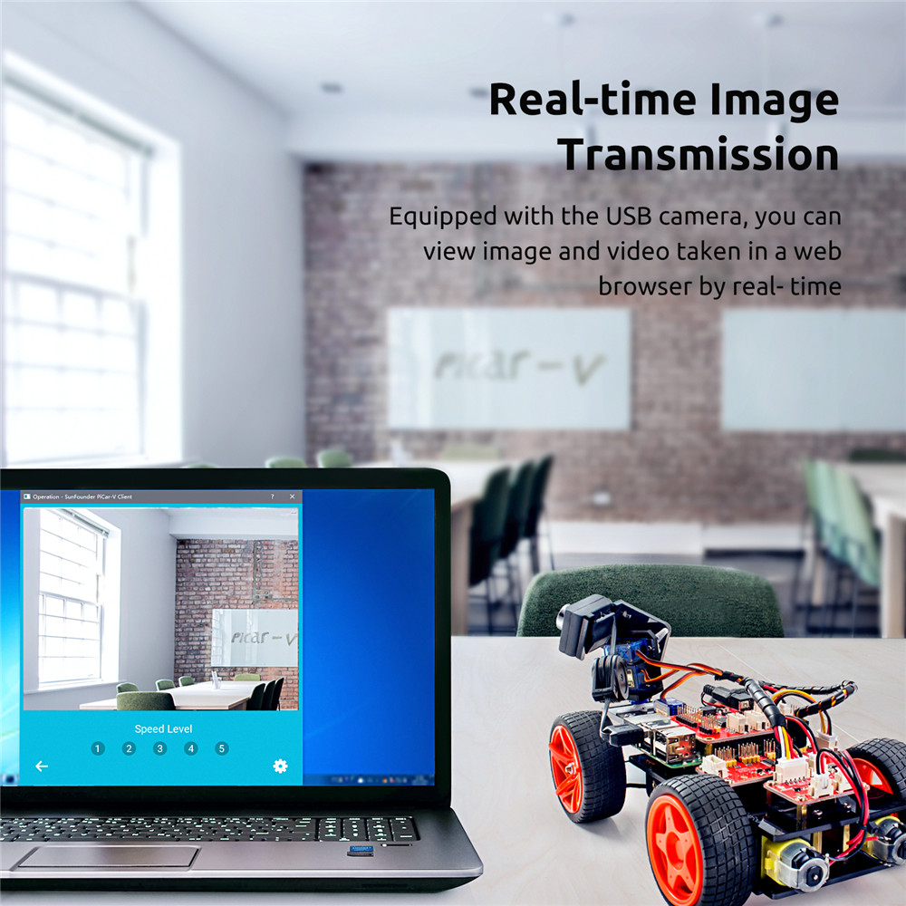 Raspberry Pi Smart Video Car Kit V2 (3)