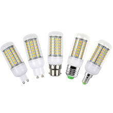 1 X E27 E14 G9 GU10 B22 LED Corn Bulb Replace 25W Fluorescent Lights 5730SMD 69LEDs 220V LED lamp For Chandelier Candle Lighting