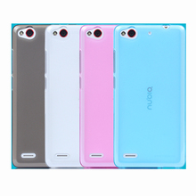Factory Outlet Soft Case For ZTE Nubia Z7max Z7 Max NX505J Shell Cover TPU Protector Drop Helper Housing(China)