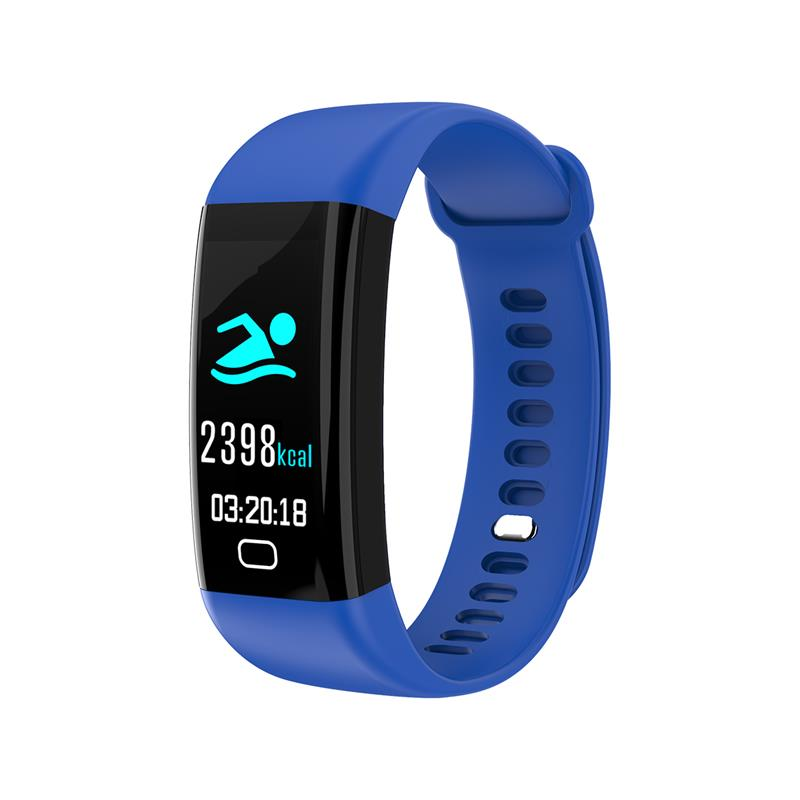 2018 Smart bracelet heart rate monitor Blood Pressure Fitness Tracker smartband sport watch for ios android PK xiaomi mi band 2 (3)