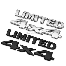 Car-styling 3D 4x4 Limited Four wheel Drive Car Sticker Chrome Logo Badge Emblem for Jeep Bmw Ford Honda VW Audi Toyota Opel