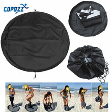 Copozz Surfing Wetsuit Diving Suit Change Bag Mat Waterproof Nylon Carry Pack Pouch for Water Sports Swimming Accessories