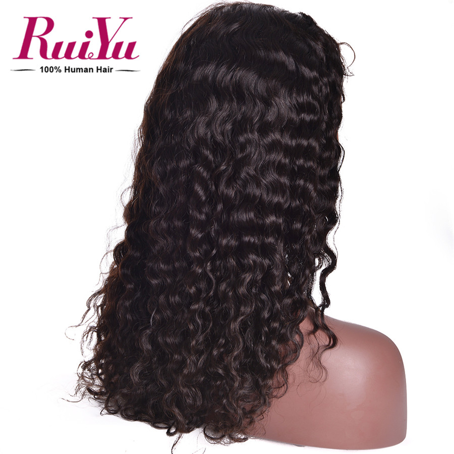 8-24″ Lace Front Human Hair Wigs Glueless Malaysian Virgin Hair Wigs Full Lace Human Hair Wigs For Black Women 7A Water Wave Wig