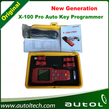 100% Original X100 Pro Auto Key Programmer x-100 pro New x100pro IMMOBILISER and OBD Diagnstic Tool  x100 plus English Version