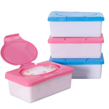 Press Pop-up Design Wet Tissue Holder Automatic Case Carro Real Tissue Napkin Box Baby Wipes Storage Case Houseware Favor