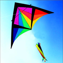 free shipping high quality 2.8m knight delta kite bar fly a kite wheel weifang kite toy inflatable alien bird kite for sale 3d