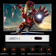 1 pcs UBOX4 ubox s900 pro Bluetooth Android 5.1 Smart tv box Set top box Wifi 4K IPTV UBTV Kodi Media Player Japan Korea(China)