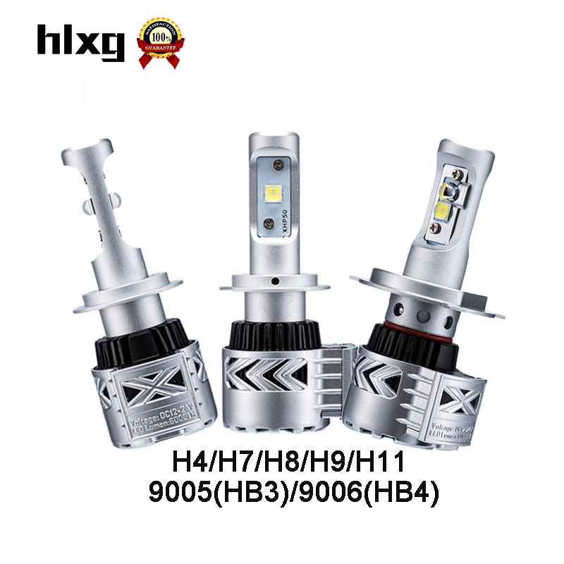 1pair G8 H4 9005 HB3 HB4 9006 h7 h11 h8 h9 Bulbs 72W 12000LUMENS headlamp for audi for mercedes car led headlight with ballast<br><br>Aliexpress