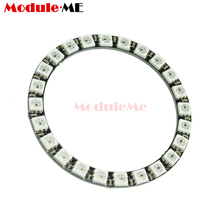 WS2812B Module Strip 24 Bits 24 X WS2812 5050 RGB LED Ring Lamp Light Integrated Drivers RGB 24 Arduino