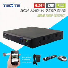 Buy TEATE AHD 720P 8 channel 1.0mp 25fps real time recording HDMI 1080P 8ch CCTV System Hybrid H.264 AHD-M recorder NVR T-G08D7PB01 for $75.60 in AliExpress store