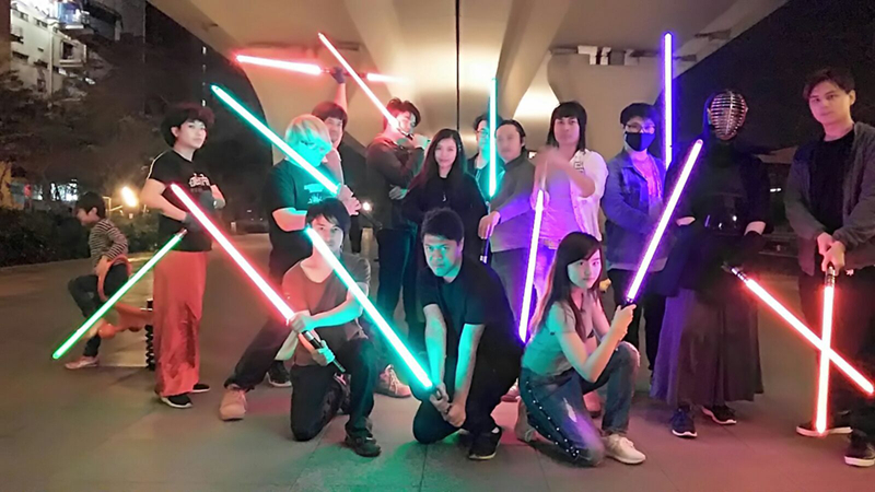 11 Colors Lightsaber Boy Gril Toy Flashing Sword RGB Sword Cosplay Interesting Star Laser Emitting Outdoor Creative Children Toy (12)