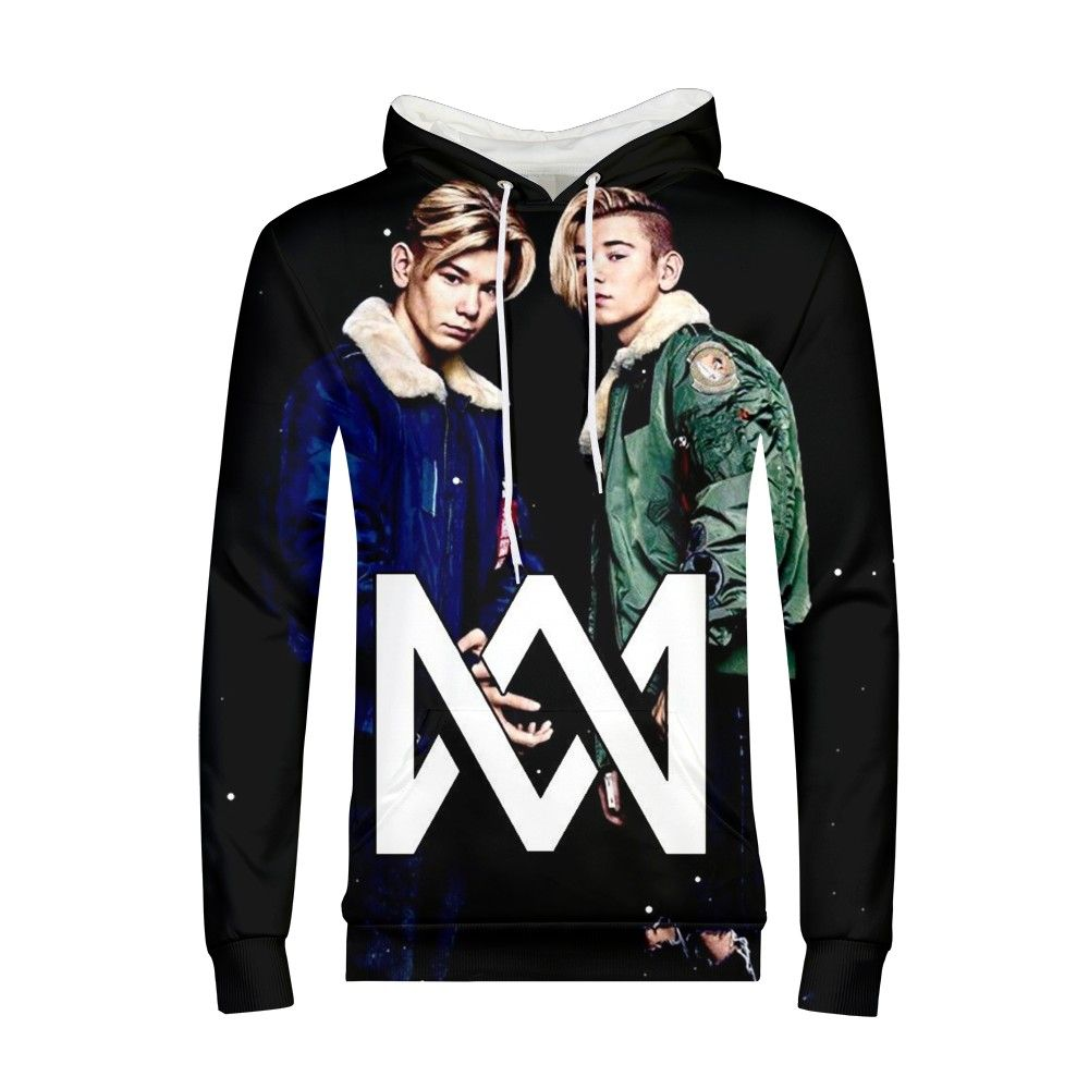 Marcus And Martinus Hoodie Sweatshirt Men/women Long Sleeve Clothes Newest Youth Fashion Hoodies Coat Tops Hip Hop Pullovers