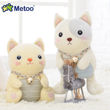 Plush Sweet Cute Lovely Stuffed Baby Kids Toys for Girls Birthday Christmas Gift Kawaii Dogs lovely Cats Doll Mini Metoo Doll