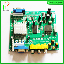 NEW Arcade Game RGB/CGA/EGA/YUV to VGA HD Video Convert Arcade games output signal switching board for Arcade game parts(China)