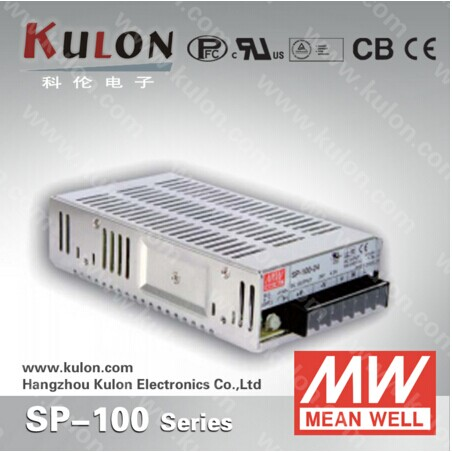 Original Mean well SP-100 Single Output 100W 27V 3.8A Meanwell SP-100-27 Power Supply with PFC<br>