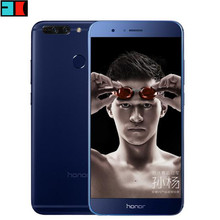 "Original Huawei Honor V9 4G LTE Mobile Phone 5.7"" 2560x1440 6GB RAM 64GB ROM Kirin960 Octa-Core Dual 12.0MP Camera Smart Phone"