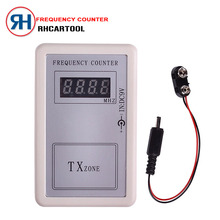 2017 Mini Handhold Digital Frequency Counter Tester Indicator Detector Cymometer Remote Control Transmitter Wavemeter 250-450MHZ