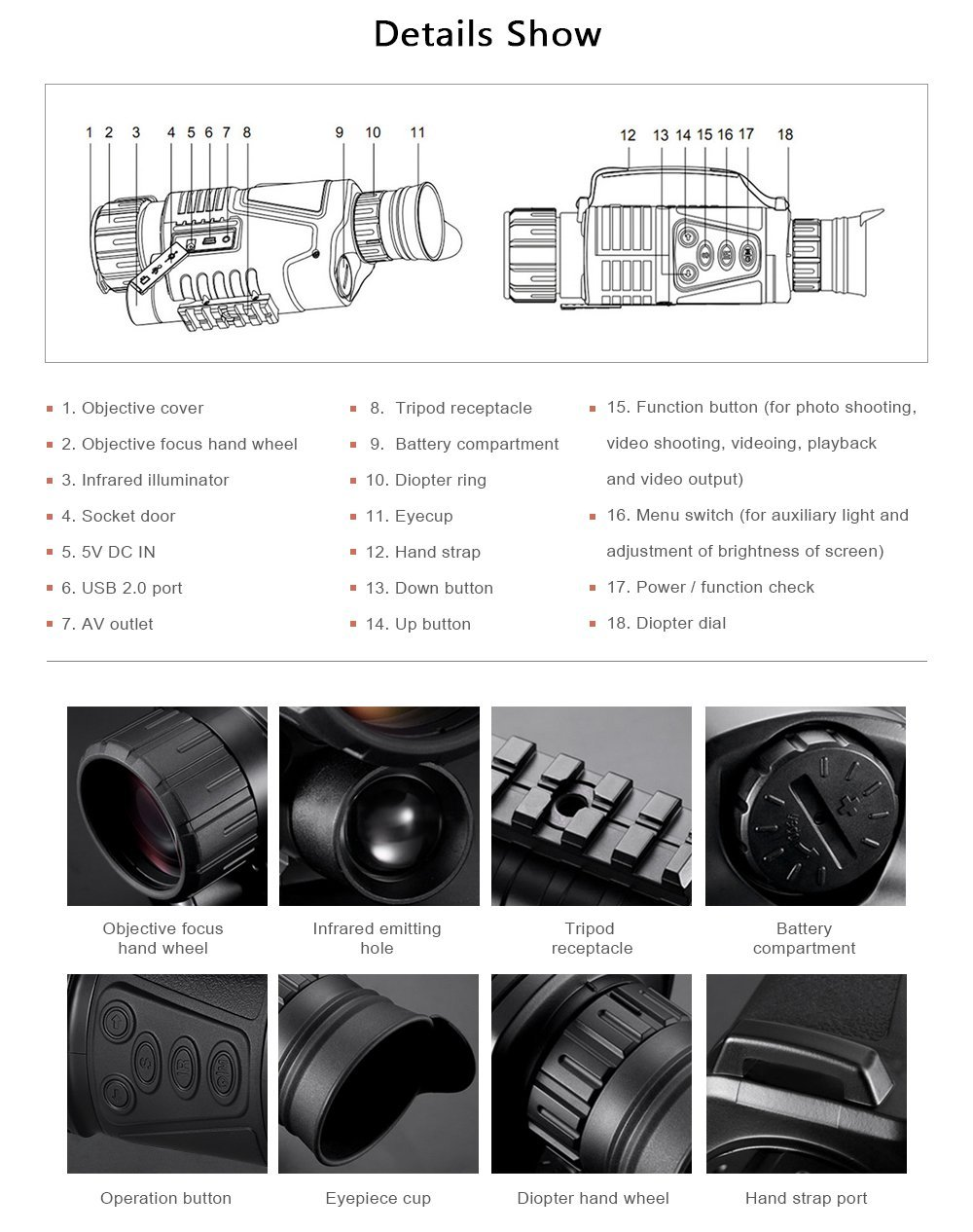 Night vision monocular (3)