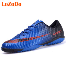 New Boy Kids Men Soccer Cleats Shoes Turf Football Boots Soccer Shoes Hard Court Outdoor Trainers Sport Sneakers Shoes