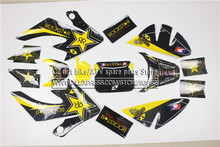 3M Decals Emblems Stickers Graphics CRF50 SSR DHZ Thumpstar pit dirt Bike faulty(China)
