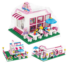2017 New Friends Heartlake Stables Girls Mia's Farm Building Blocks 264pcs/set Bricks toys Compatible with bale friends 10163(China)