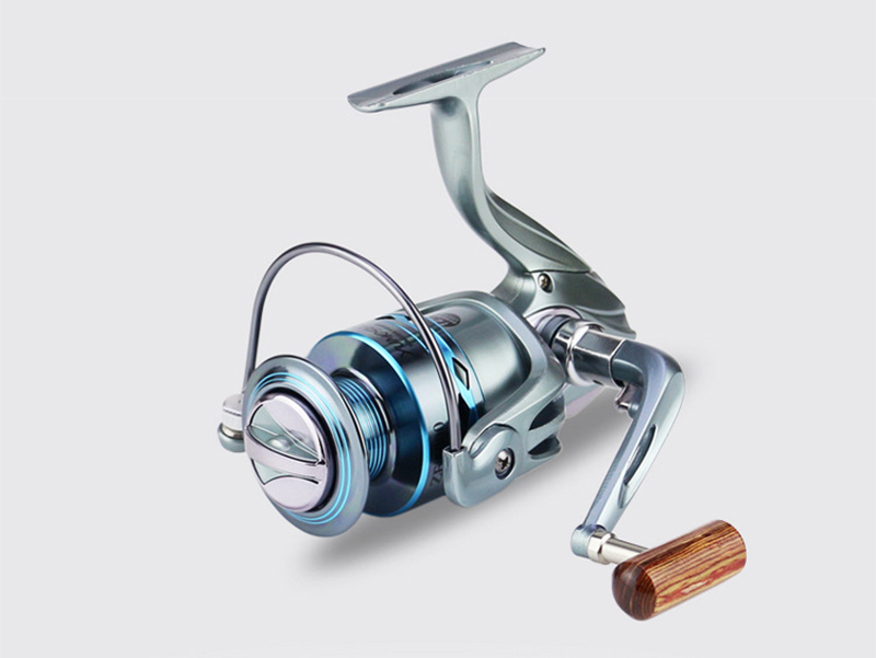 High Strength Aluminium Alloy Metal Head & Arm Spinning Fishing Reel 12+1BB Gapless Fishing Spinning Wheel Sea Fishing Tackle (9)