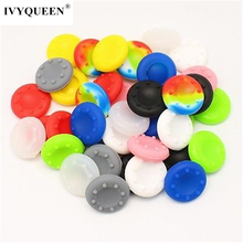 IVYUEEN 60 pcs Silicone Analog Thumb Stick Grips for Playstation 4 PS4 Pro Slim for PS3 Controller for Xbox 360 Thumbsticks Caps(China)