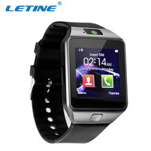 LETINE Smart Bluetooth4.0 Men Sport Watch Smartwatch with LED Display Music Player Pedometer for Android IOS Mobile Phone(China)