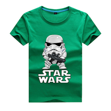 2017 movies Star Wars children boys t shirt kids Star Wars Printed shirt kids clothes boys t-shirt top children clothing enfant