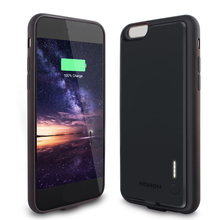 Rechargeable External Battery Cases For IPhone 6 backup power bank 2000 mAh  Portable Battery Case for iphone 6s Fast Charger