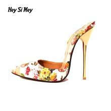 New Summer  Point Toe Patent Leahter High Heels 13cm Pumps Shoes 2017 Newest Woman's Red Sandals Heels 40-49 Size Shoes