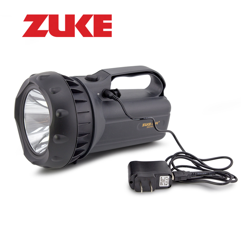ZuKe Outdoor Searching Lamp Portable 15W Super Bright Led Flashlight Handhold Camping Spotlight Emergency Night Light<br>