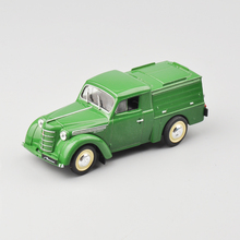 Sale! 1:43 Scale Russia Diecast Car Model A-7 Green Vans Children Collection Classic Car Models